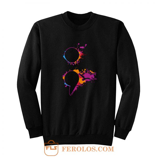 Limited Edition Semicolon Sweatshirt