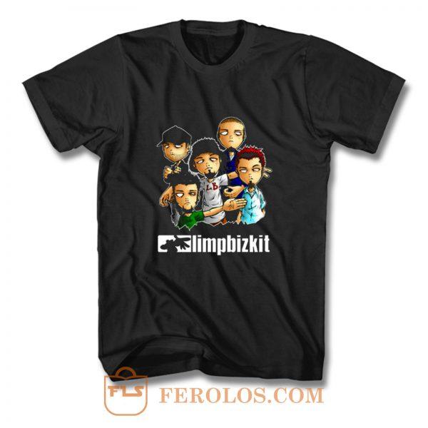 Limp Bizkit Band T Shirt