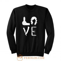 Love Hair Equipment Sweatshirt