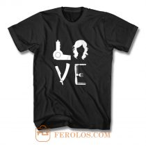 Love Hair Equipment T Shirt
