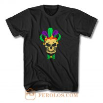 Mardi Gras Skull Party Carnival Festival Mask T Shirt