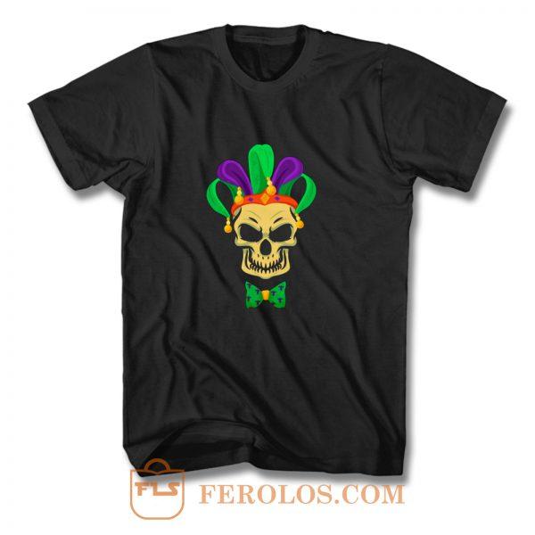 Mardi Gras Skull Party Carnival Festival Mask T Shirt