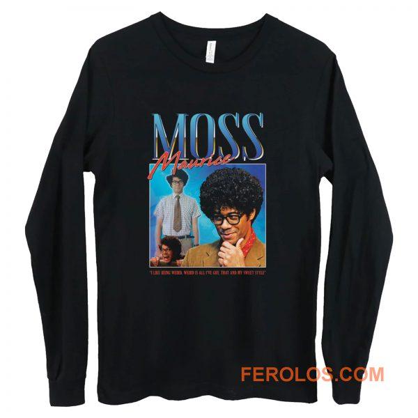 Moss Maurice Homage Nerd Geek Long Sleeve