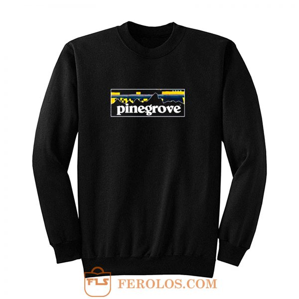 Pinegrove Outdoors Parody Patagonia Sweatshirt