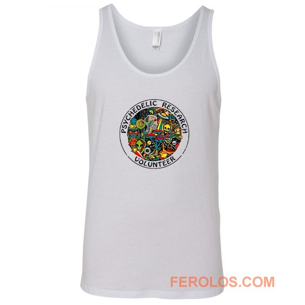 Psychedelic Research Tank Top