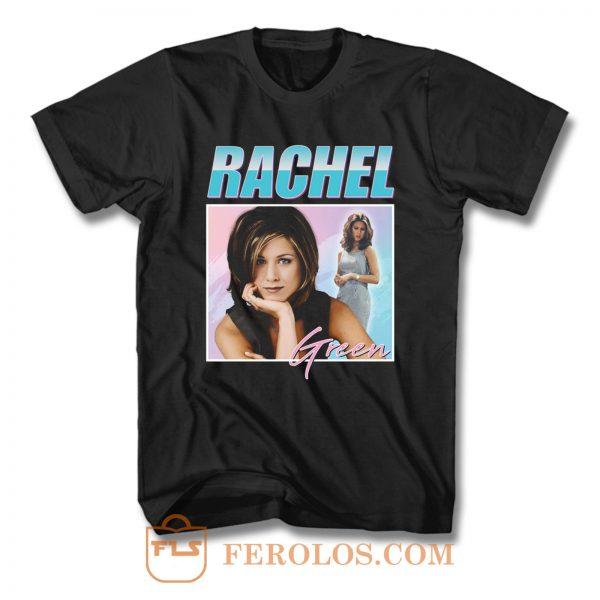 Rachel Green Friends Homage T Shirt