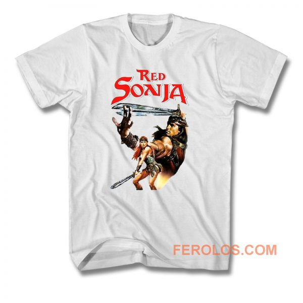 Red Sonja T Shirt