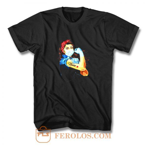 Rosie The Riveter Nurse T Shirt