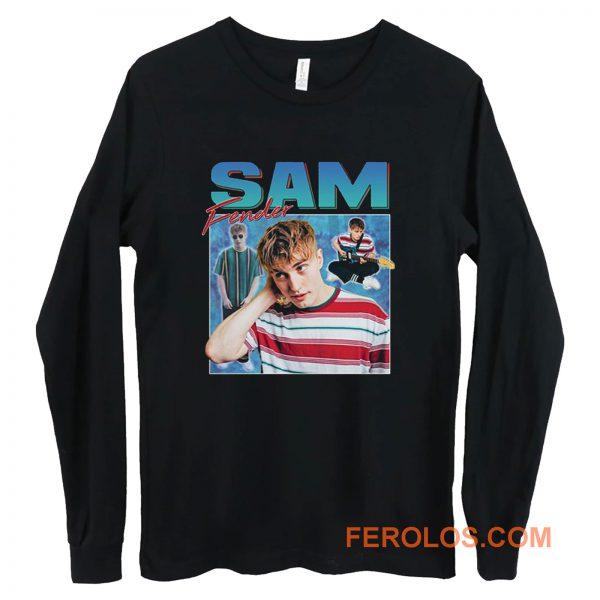 Sam Fender Homage Retro Long Sleeve