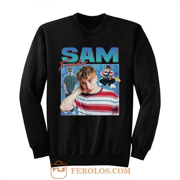 Sam Fender Homage Retro Sweatshirt