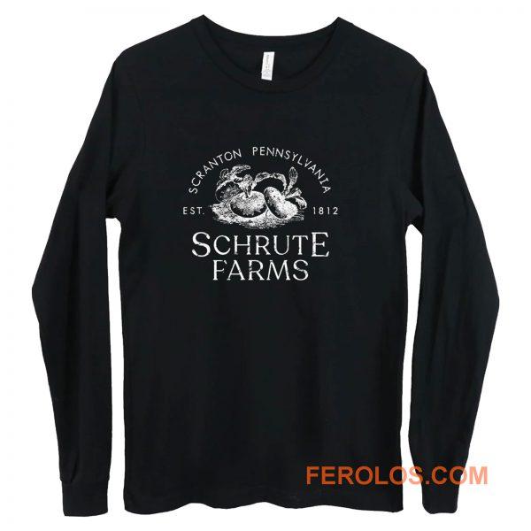 Schrute Farms Dwight Michael Scott Long Sleeve