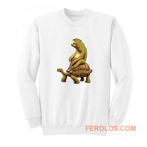 Sloth Tortoise Sweatshirt