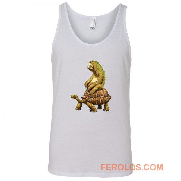 Sloth Tortoise Tank Top