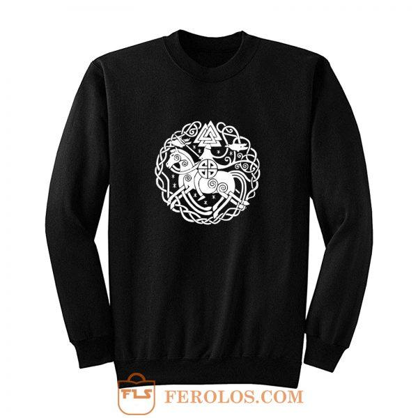 Thor Germanen Runen Wikinger Wacken Heavy Metal Sweatshirt