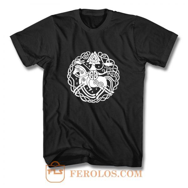 Thor Germanen Runen Wikinger Wacken Heavy Metal T Shirt