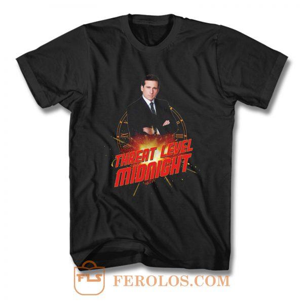 Threat Level Midnight Michael Scott T Shirt