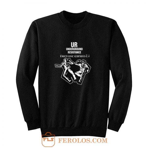 Underground Resistance Electronic Warfare Sweatshirt