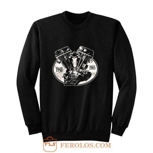 V2 Panhead 1948 1965 Sweatshirt