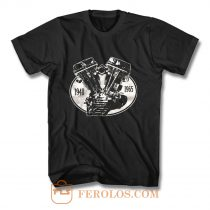 V2 Panhead 1948 1965 T Shirt