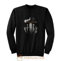 Vintage Motorcycle Black Mach 4 Sweatshirt