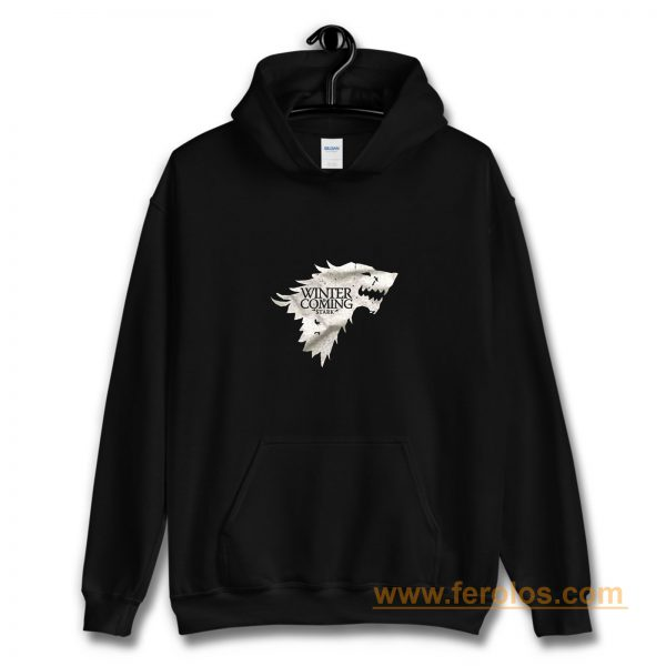 Winter is Coming Stark Wolf Hoodie