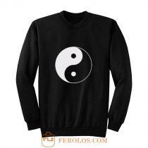 Yin And Yang Logo Sweatshirt