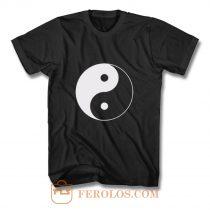 Yin And Yang Logo T Shirt