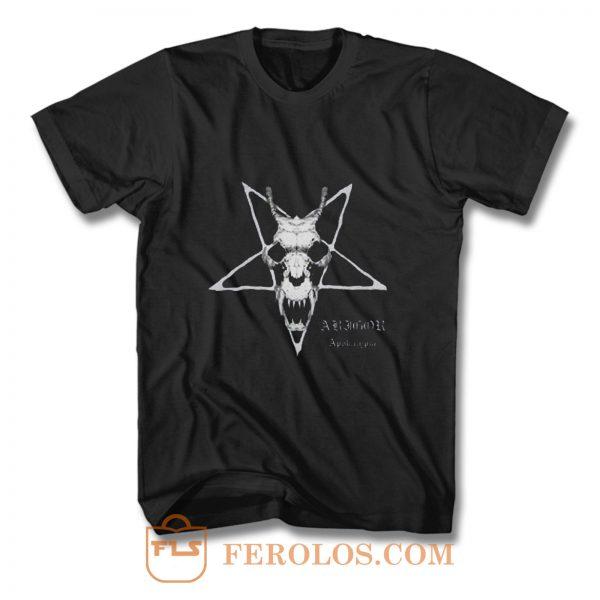 ABIGOR BAND Black Metal Band T Shirt