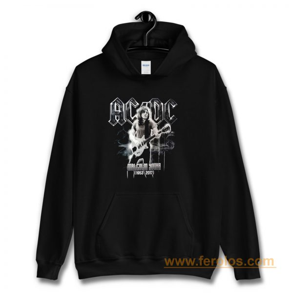 ACDC Malcolm Young Hoodie