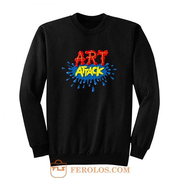 ART ATTACK Sweatshirt