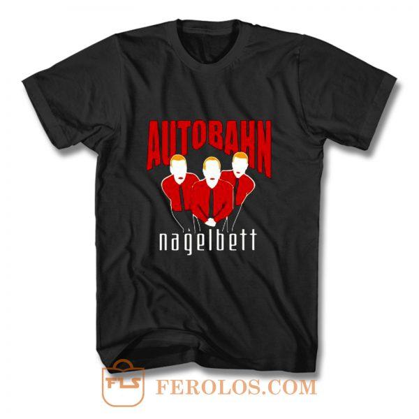 AUTOBAHN NAGELBETT POP BAND T Shirt
