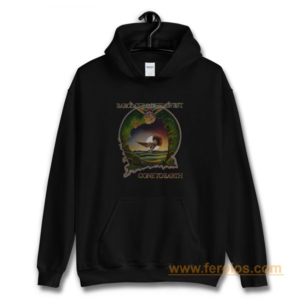 BARCLAY JAMES HARVEST GONE TO EARTH 1977 BLACK Hoodie