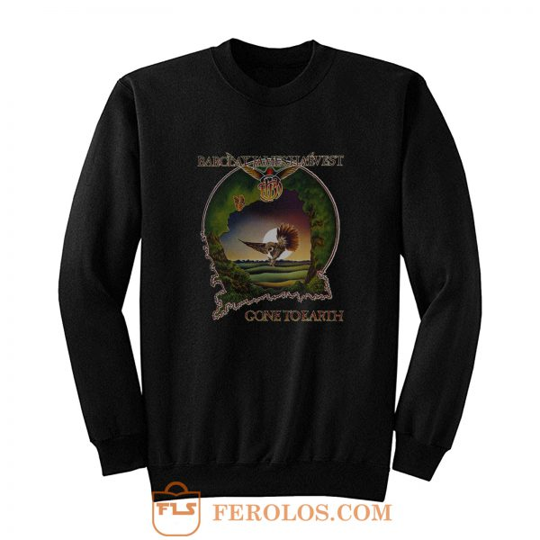 BARCLAY JAMES HARVEST GONE TO EARTH 1977 BLACK Sweatshirt