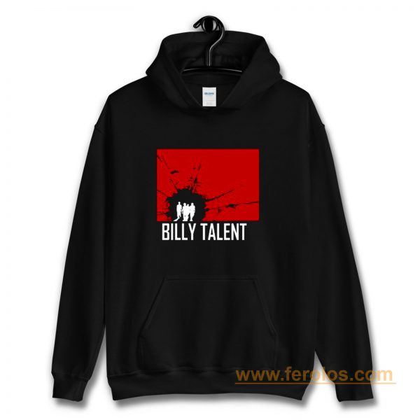 BILLY TALENT Red Square Punk Rock Band Hoodie