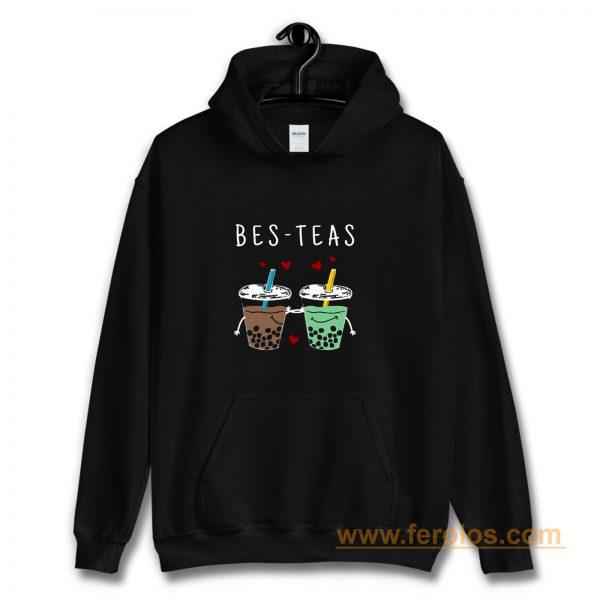 Bes Teas Best Friends Bubble Tea Hoodie