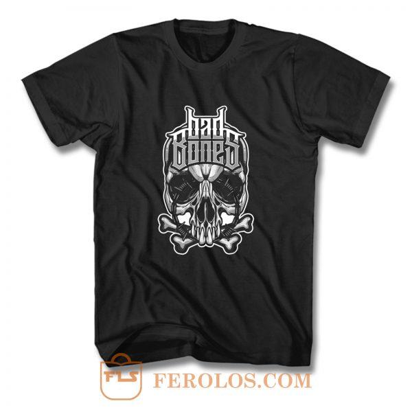 Biker t Rock Tattoo Cool Skull Ba T Shirt