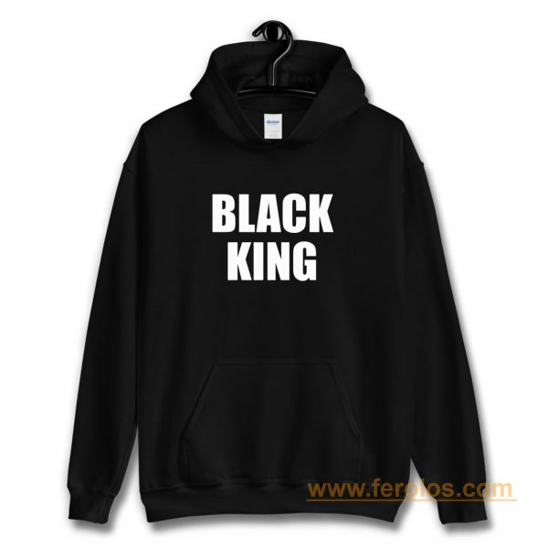 Black King Hoodie