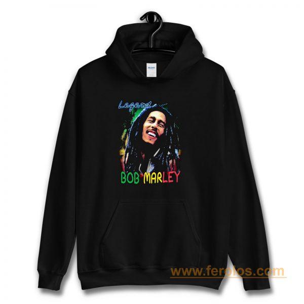 Bob Marley Short Sleeve Legend Hoodie