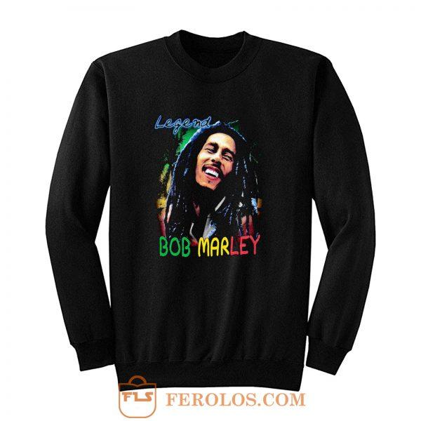 Bob Marley Short Sleeve Legend Sweatshirt
