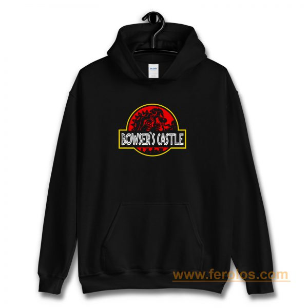 Bowsers Castle Super Mario Hoodie