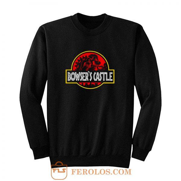 Bowsers Castle Super Mario Sweatshirt