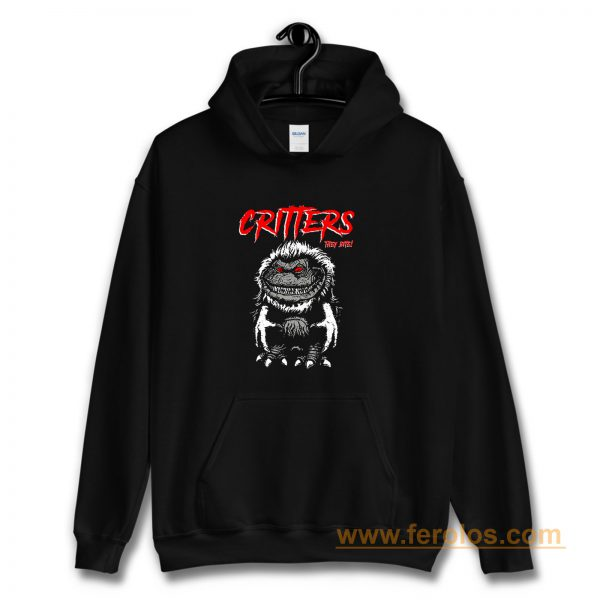 CRITTERS science fiction comedy horror Hoodie