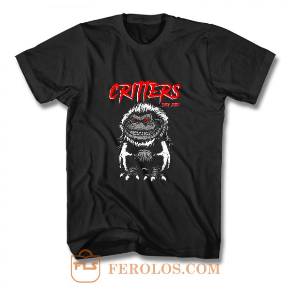 CRITTERS science fiction comedy horror T Shirt