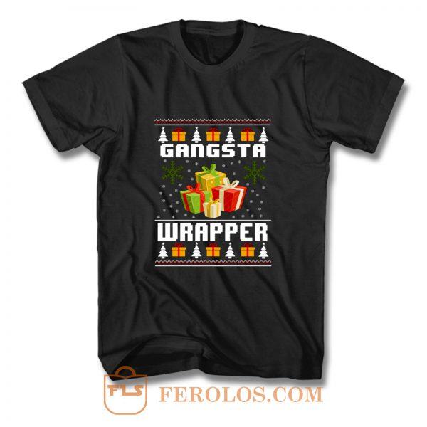 Christmas Gangsta Wrapper T Shirt