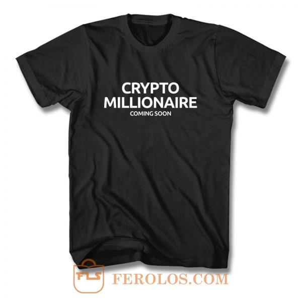 Cryptocurrency Crypto BTC Bitcoin Miner Ethereum Litecoin Ripple T Shirt