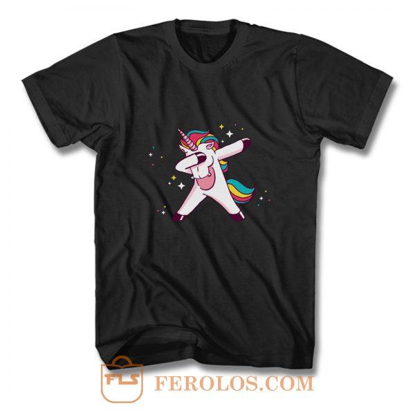 Dabbing Unicorn T Shirt