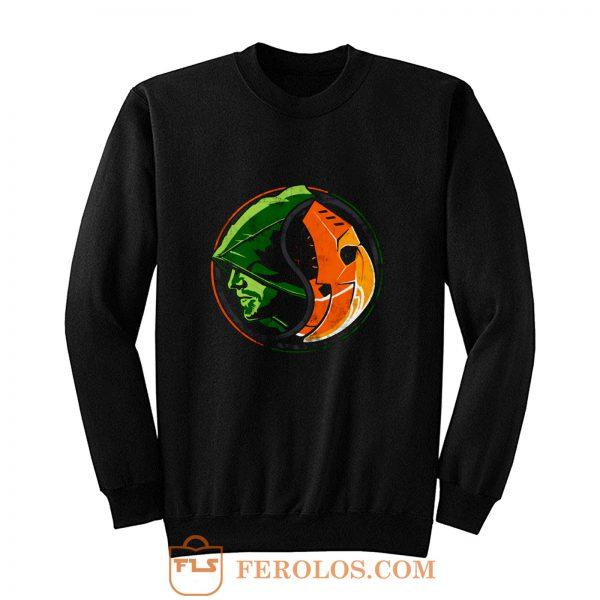 Deathstroke Arrow YinYang Sweatshirt