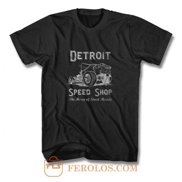 Detroit Speed Shop Tubber T Shirt
