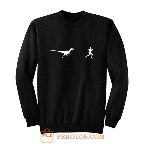 Dinosaur Running Sweatshirt