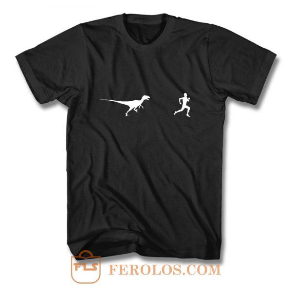 Dinosaur Running T Shirt